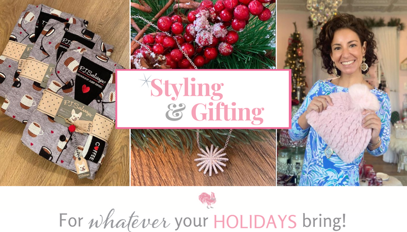 Making your holidays cozy, sparkly and awesome!