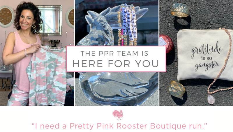 The PPR Team is here to help!