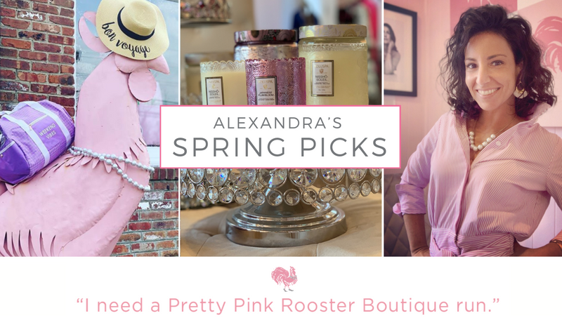 Alexandra's Spring picks
