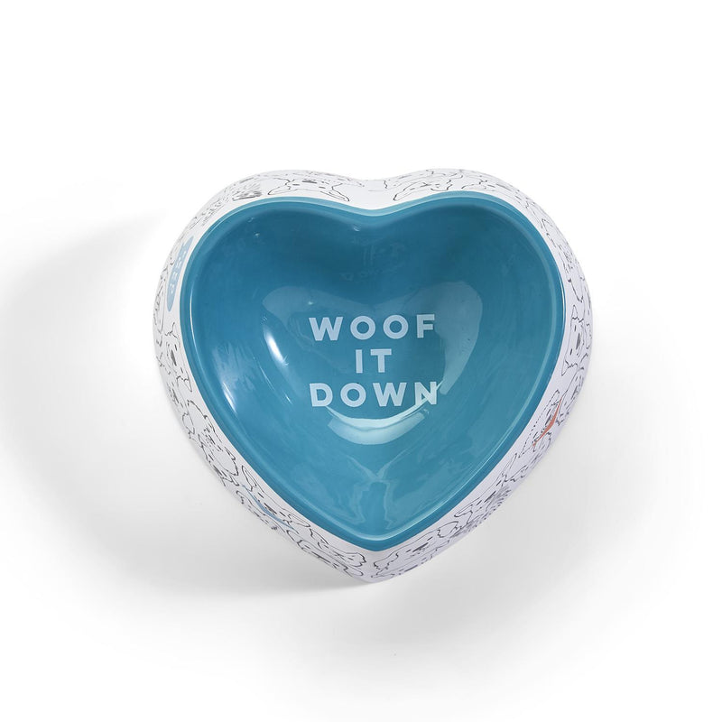 "The ""Woof it Down"" Dog Bowl"