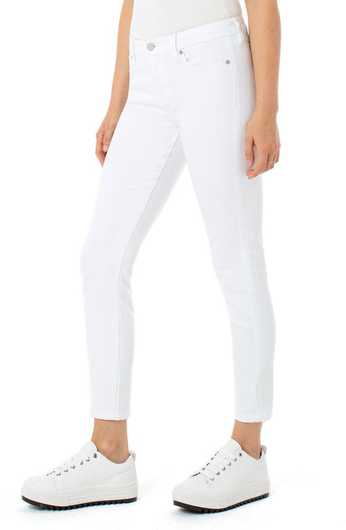 "The ""White Abby Stretch Skinny"" by Liverpool"