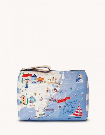"The ""Down the Shore Carry All Case"" by Spartina 449"