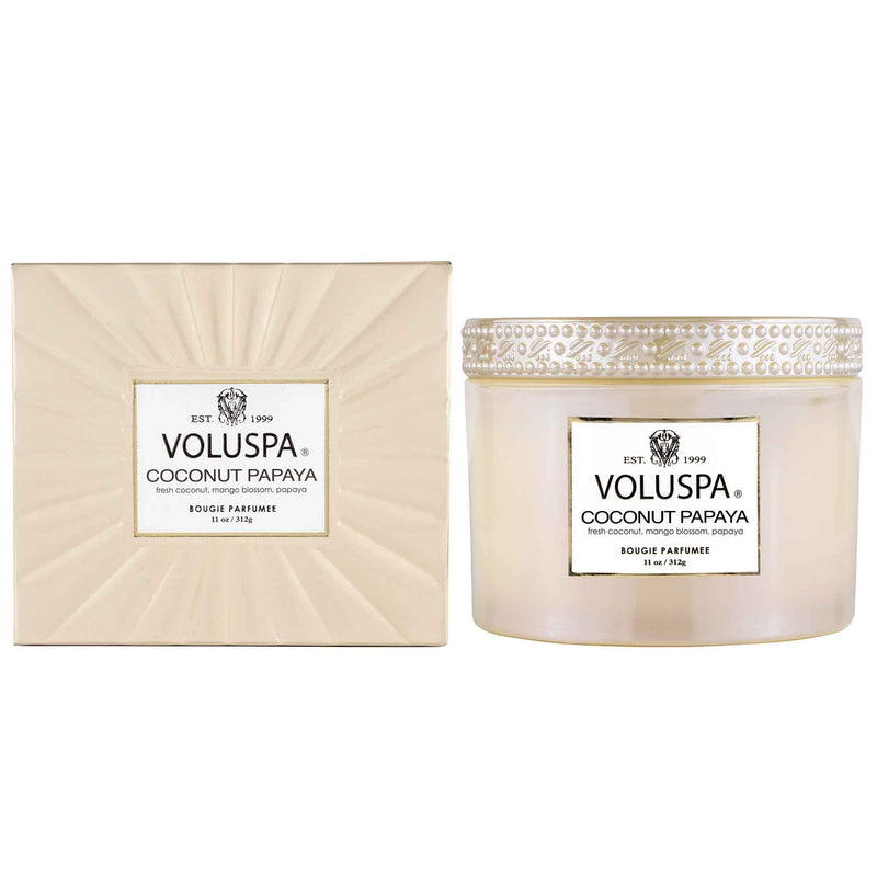 "The ""Coconut Papaya"" Collection by Voluspa"