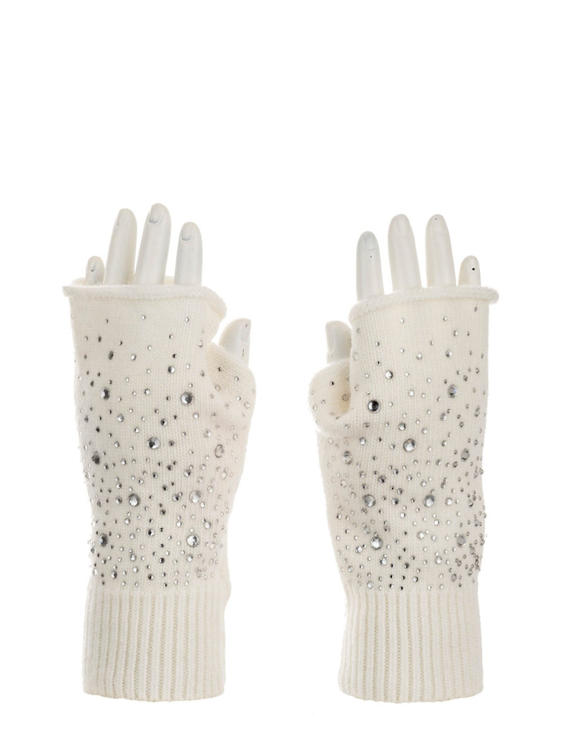 "The ""Fingerless Glitter"" Gloves"