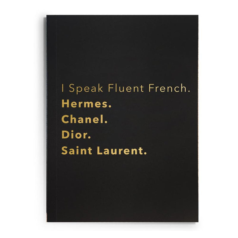 "The ""Fluent French"" Journal"