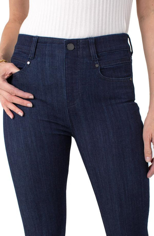 "The ""Gia Glider Skinny Pull-On High Performance Denim"" by Liverpool"