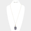 "The ""Gray Slate"" Necklace"
