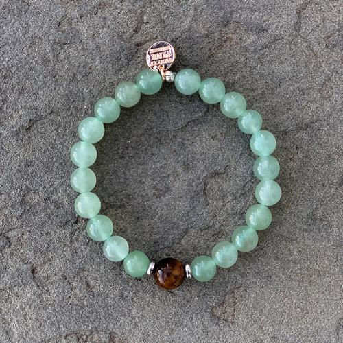 "The ""Aventurine"" Bracelet by Pretty Pink Rooster INSPIRED®"