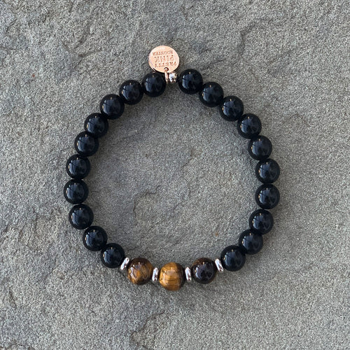 "The ""Rainbow Obsidian"" Bracelet by Pretty Pink Rooster INSPIRED®"