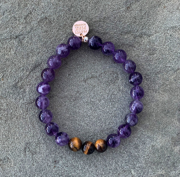 "The ""Amethyst"" Bracelet by Pretty Pink Rooster INSPIRED®"