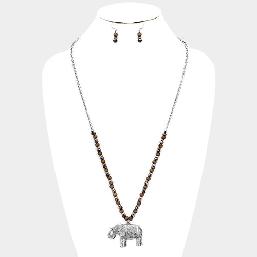 "The ""Boho Ellie"" Necklace and Earring Set"