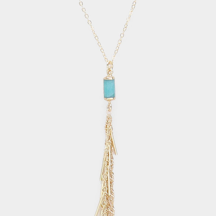 "The ""Golden Tassel Vibe"" Necklace"