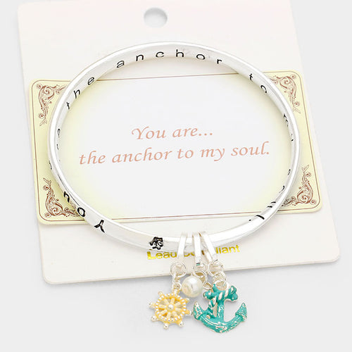 "The ""Anchor to my Soul"" Bracelet"
