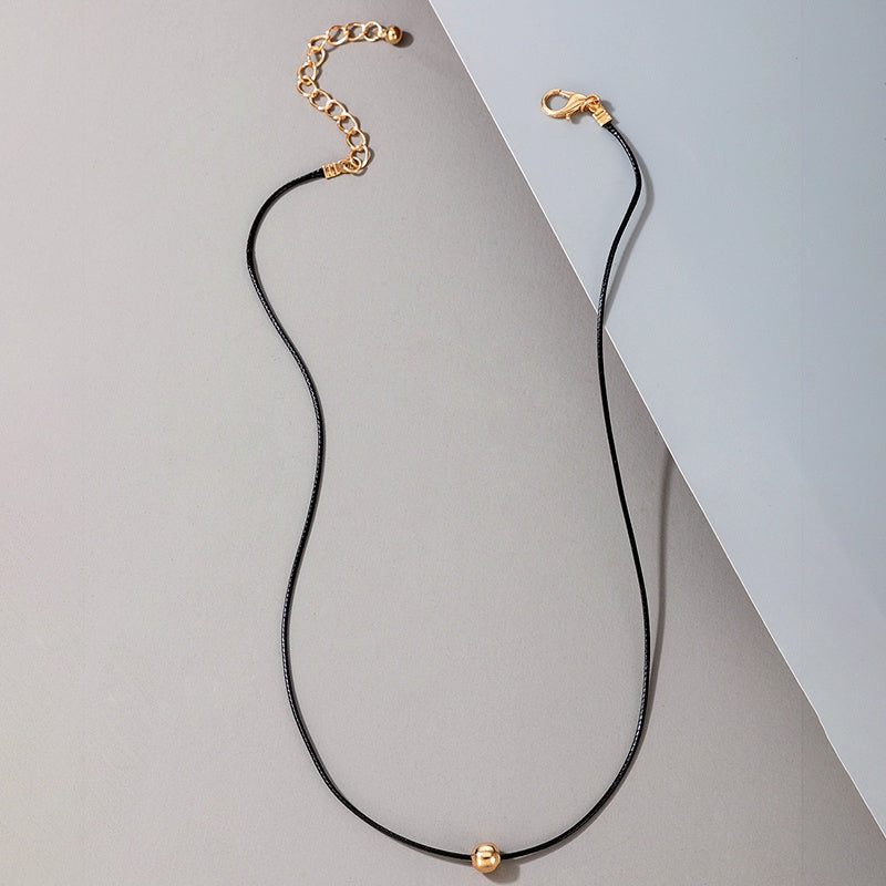 "The ""Simple Bead"" Necklace"