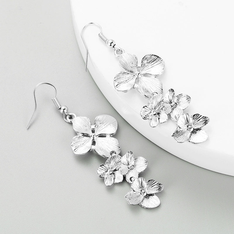 "The ""Trio Flower"" Earrings"