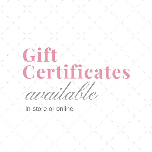 Pretty Pink Rooster Gift Certificates