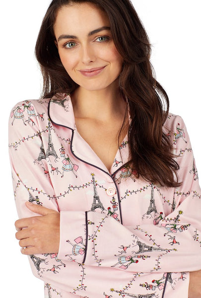 "The ""Christmas in Paris"" Pajama Set by BedHead"