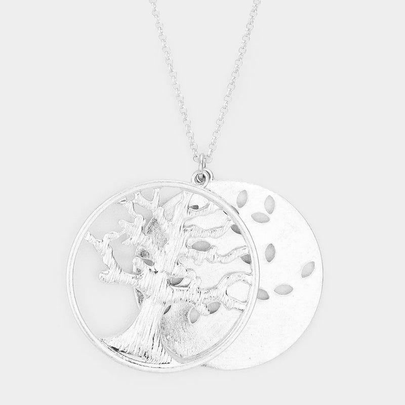 "The ""Silver Tree"" Necklace"