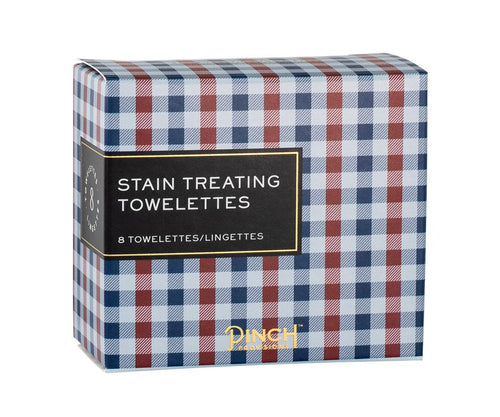 "The ""Plaid Stain Remover Wipes"" by Pinch Provisions"