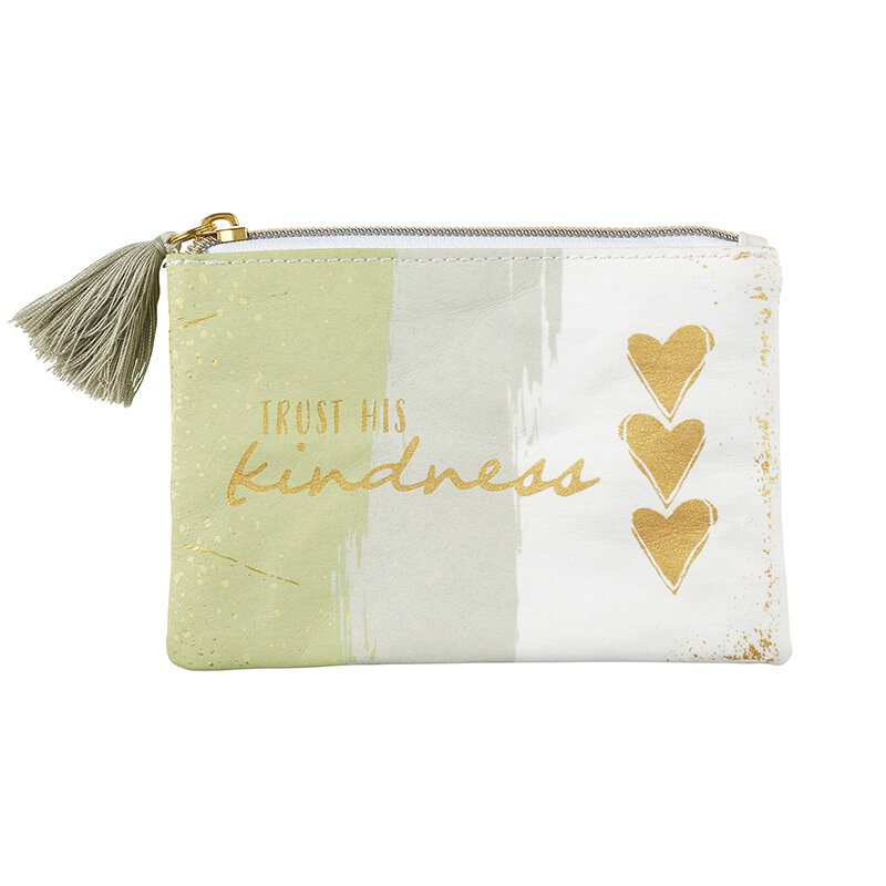 "The ""Trust His Kindness"" Mini Pouch"