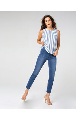 "The ""Chloe Crop Skinny Jeans"" by Liverpool Jeans"