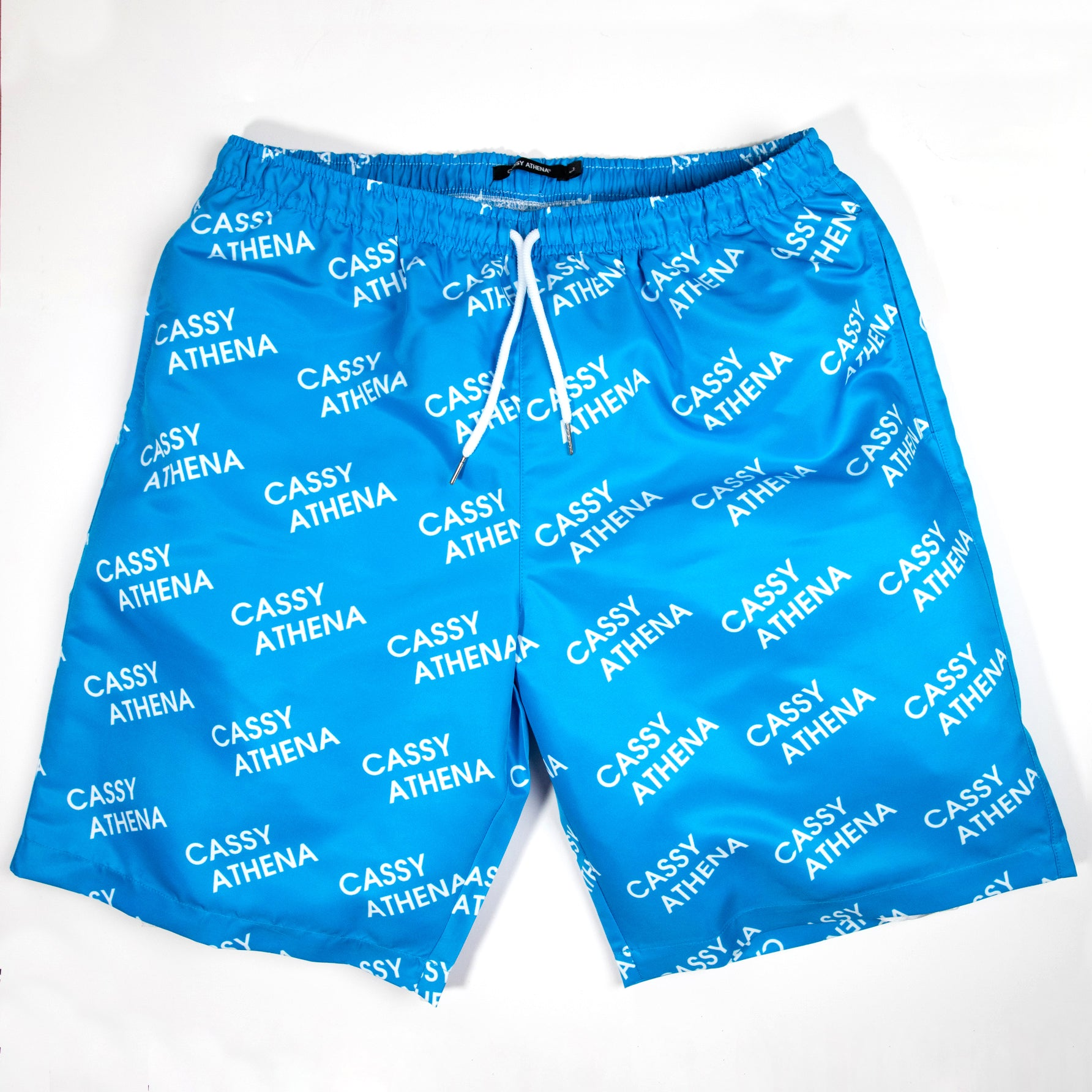 Venice Blue Allover Print Shorts