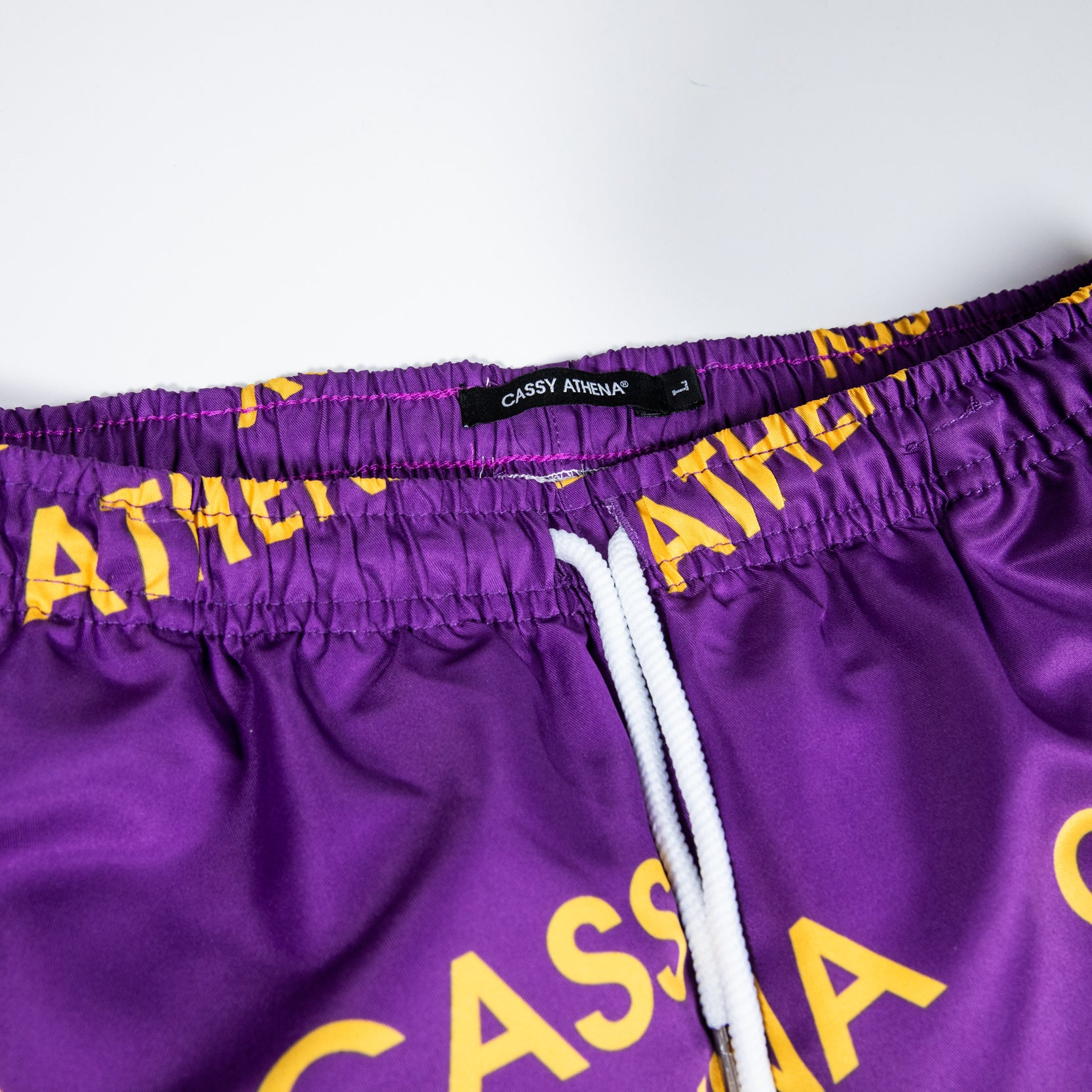 Melrose Purple Allover Print Shorts