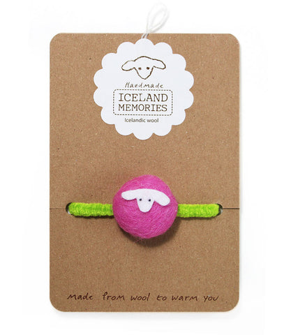 Elastic - Cotton Candy Pink / Bright Green