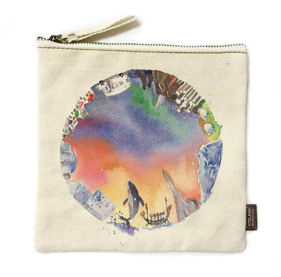Crystal ball Journey pouch
