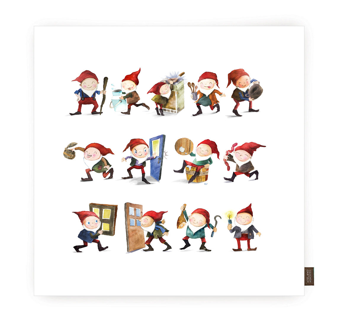 Cushion cover - Yule lads