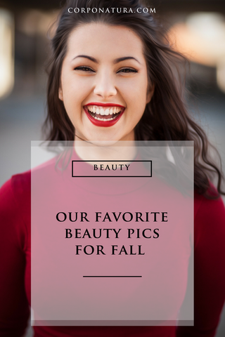 Beauty products for fall