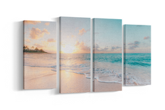 4 panel canvas split