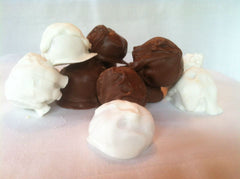 White Chocolate Covered White Chocolate Truffles