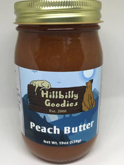 Peach Butter -9oz