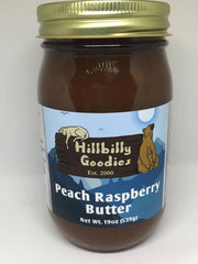Peach Raspberry Butter