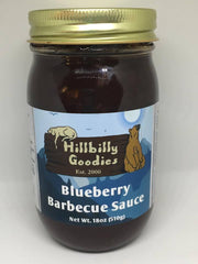 Blueberry Barbecue Sauce- 18 oz