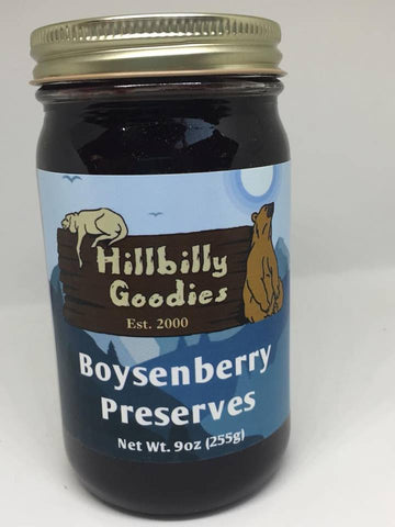 Boysenberry Preserves -9oz