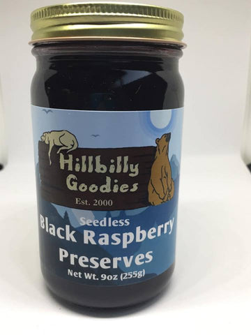 Seedless Black Raspberry Preserves -9oz