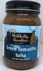 Green Tomatillo Salsa- 16 oz