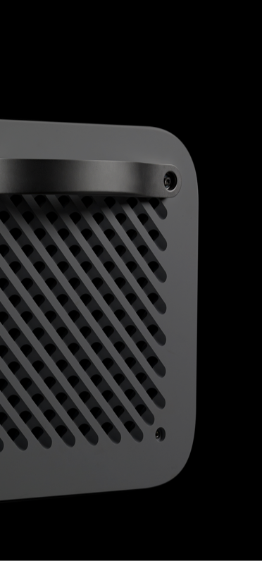 close up of kube speaker