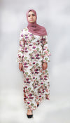 Strike a Rose Floral Print Maxi Dress