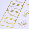 Gold and White Sticker Packs