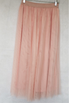 Tulle Skirt - Nude Peach