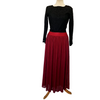 Tulle Skirt - Deep Red