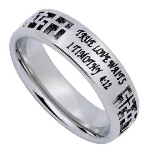 1 Tim 4:12 Purity Ceremony Ring