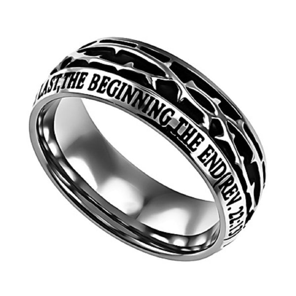 Alpha and Omega Rev Ring