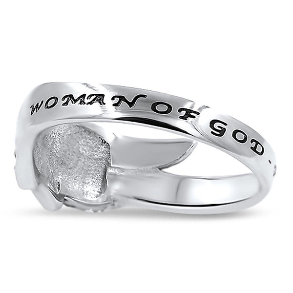 Guardian Angel Wing Ring Proverbs 31 Woman Of God