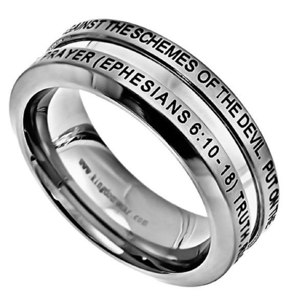 Armor of God Eph Ring