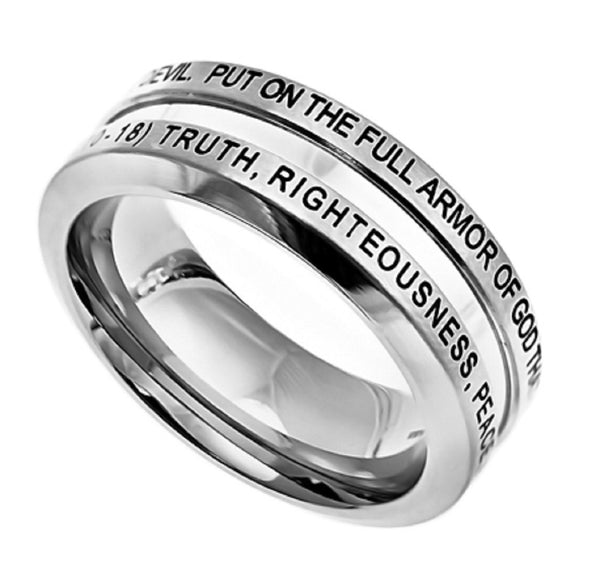 Armor of God Ephesians Ring
