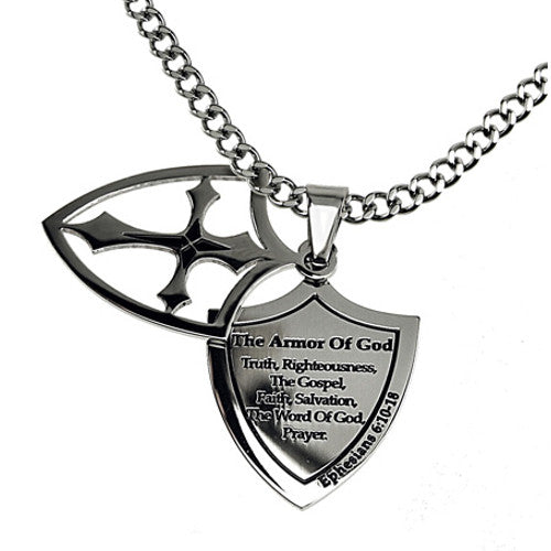 Armor of God Necklace Shield of Strength